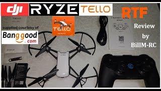 DJI Ryze Tello RTF review - Unboxing, Inspection & Setup (Part I)