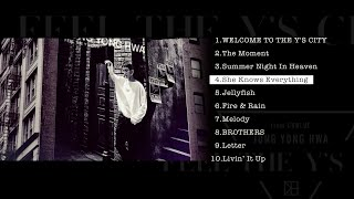 ジョン・ヨンファ(from CNBLUE)Japan 3rd Album「FEEL THE Y'S CITY」全曲ダイジェスト
