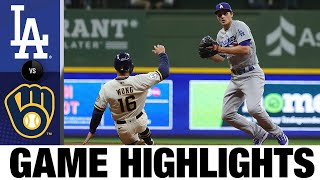 Dodgers vs. Brewers Game Highlights (4/29/21) | MLB Highlights