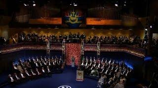 Nobel Prize Banquet Honors Winner Bob Dylan