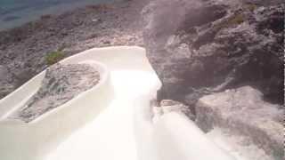 Водная горка в Шкарете (xCaret)