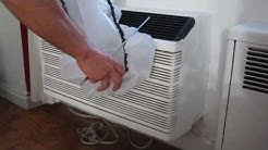 Air Conditioner Cover-  Frost King A/C cover stops drafts