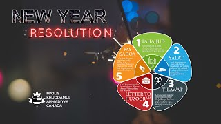 Happy New Year | New Year Resolutions for an Ahmadi Muslim
