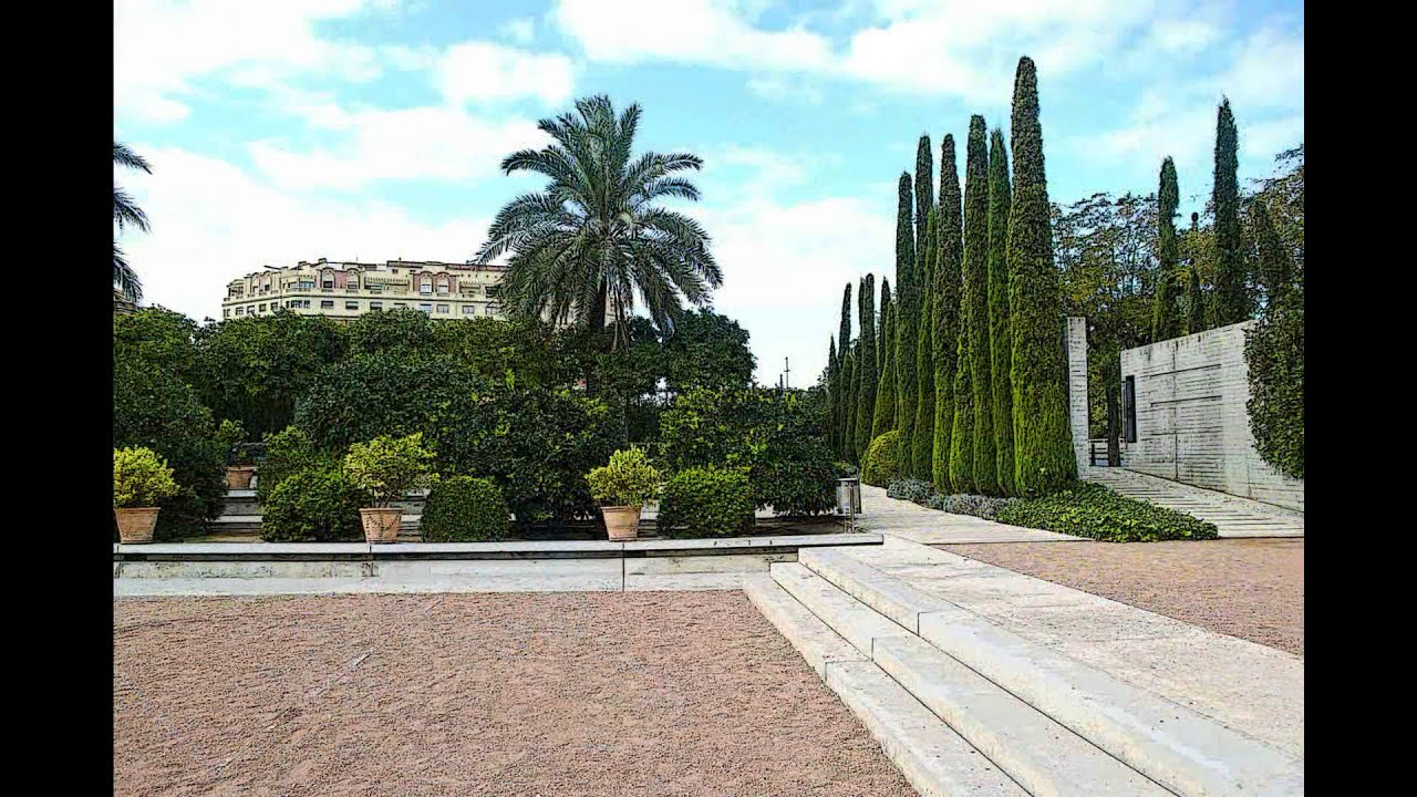 Jardin de las hesp rides valencia youtube for Jardin hesperides