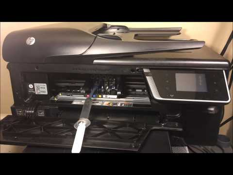 Hp Officejet 6600 - How To Clean Printhead FIXED PT 2
