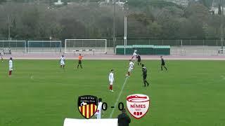Résumé Pays d'Aix FC - Nîmes Olympique  U17NAT Groupe D 02/12/18