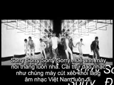 Sorry Sorry - Super Junior (Anti HKT - Anti Bảo Thy)