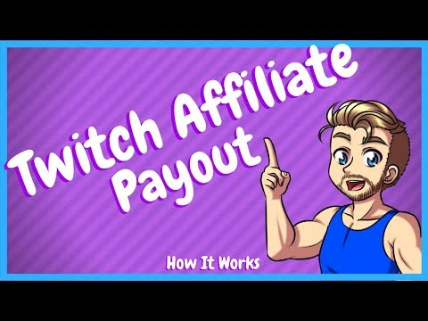 Twitch Affiliate Payout