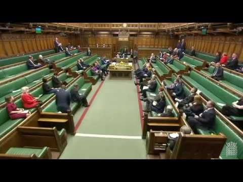 Asking the Under- Secretary of State for Work and Pensions about housing support for people in work