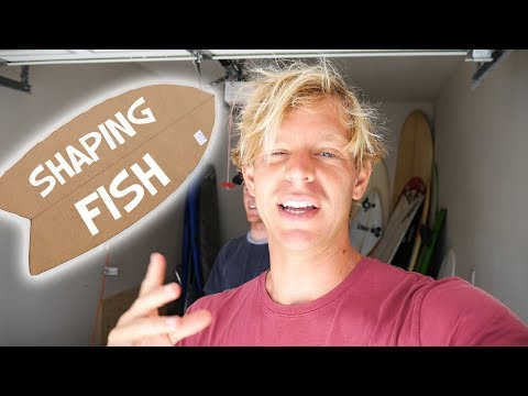 SHAPING A FISH SURFBOARD Part 1