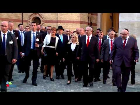 PM Netanyahu Meets with Jewish Community in Budapest