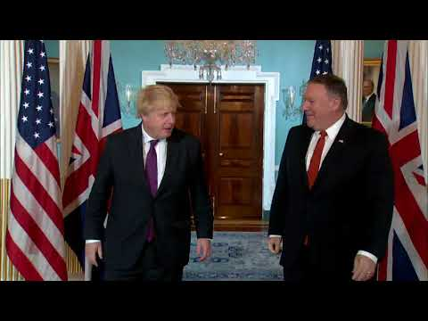 Secretary Pompeo Meets with UK Foreign Secretary Johnson
