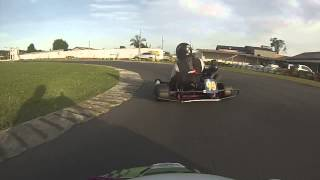 Treino com Kart RD 135 no Kartódromo Santa Apolônia, Morro da Fumaça-SC 24/06/2014