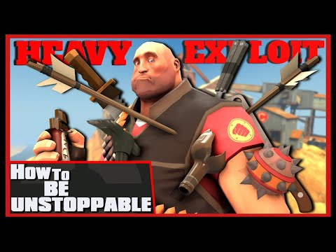 TF2: How To be Unstoppable (Heavy Exploit)