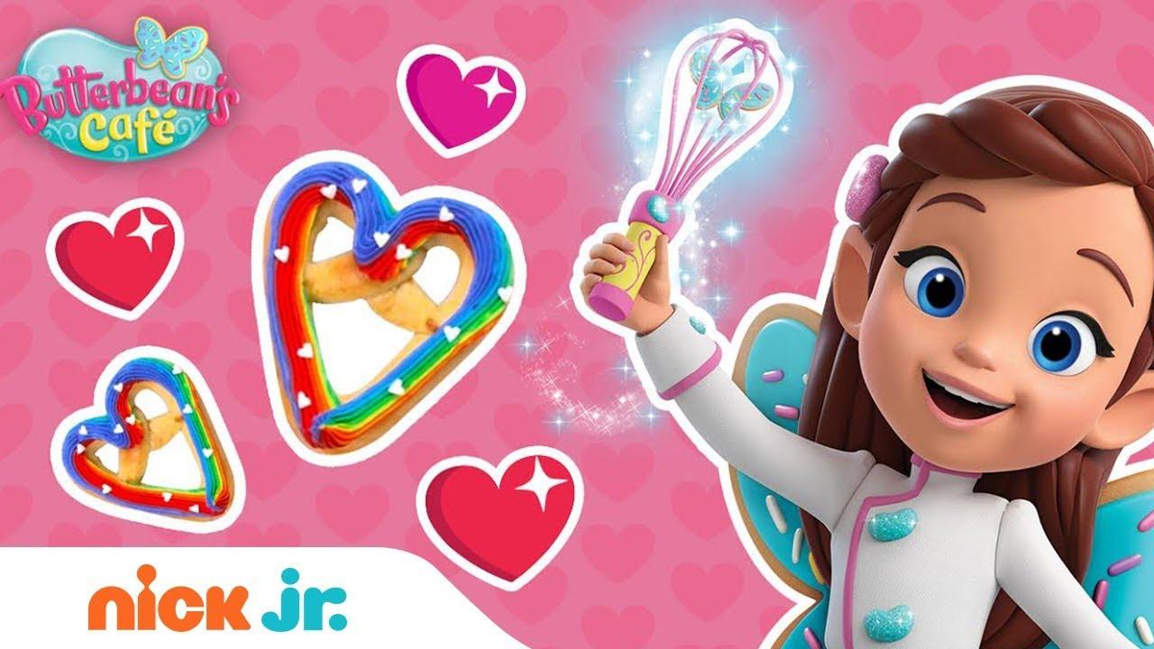 7dd91d4e03de Heart-Shaped Rainbow Pretzel Valentine s Day Recipe 🥨 Butterbean s ...