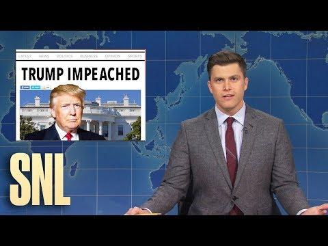Weekend Update: President Trump Gets Impeached - SNL