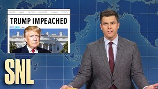 Weekend Update: President Trump Gets Impeached - SNL