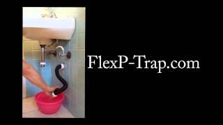 Flexible plumbing P-Trap presentation