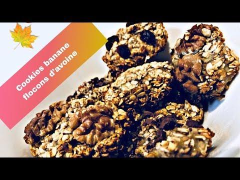 cookies-ultra-simple-!-banane-et-flocons-d'avoine-(ww-et-vegan)