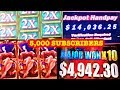 ★ MY YEAR SO FAR ★ MY BEST HANDPAYS & JACKPOTS ★ 5,000 SUBSCRIBERS ★