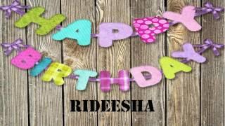 Rideesha   Wishes & Mensajes