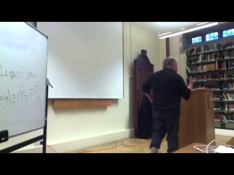 The Problem of Personal Identity - Lecture Oxford University