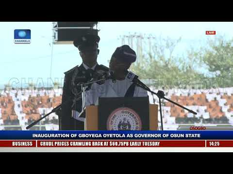 Gboyega Oyetola Sworn In, Takes Over As Osun State Governor Pt.9 |Live Event|