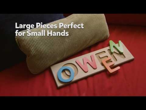 One-of-a-Kind Name Puzzle: Personalized Name Puzzles (2017)