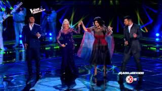 Ricky Martin, Laura Pausini, Julion Alvarez,Yuri - Cielo Roj...
