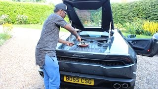 Cooking An Egg With A Lamborghini