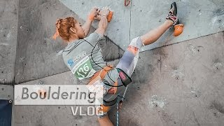 Jain Kim shows perfect rock climbing technique