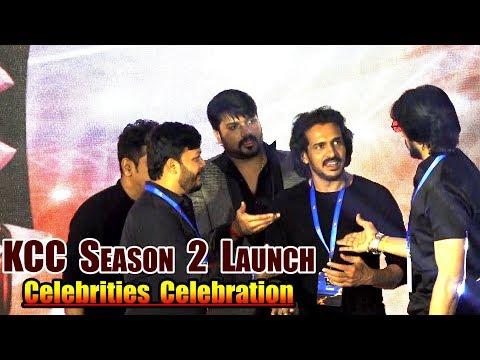 Shivrajkumar,Upendra,Sudeep & Ganesh Counter Dialouges and Funny Talk at KCC Season 2 Launch | KCC |