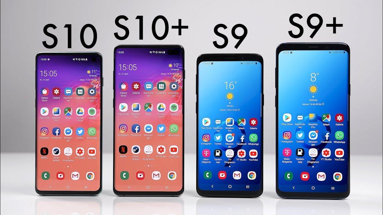 Samsung Galaxy S10 S10 Vs Galaxy S9 S9 Deutsch Swagtab Youtube