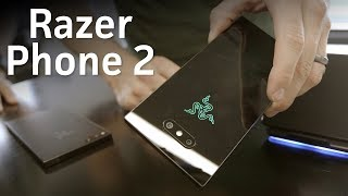 Razer Phone 2 hands-on: A glass back and RGB logo