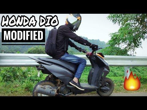 Modified Honda Dio | LOUD Exhaust Note | RAW RIDE