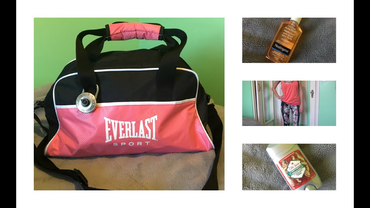 1bbb469044e5 What s In My Gym Bag