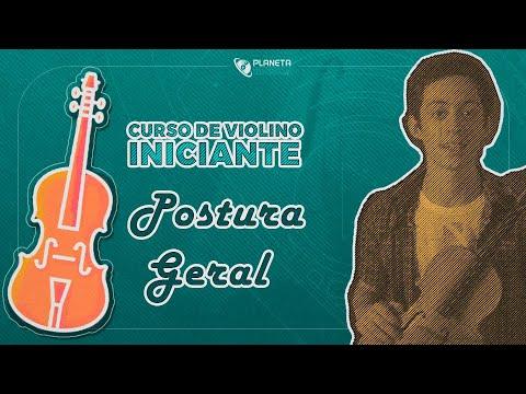 Curso Violino Iniciante | Aula como SEGURAR O VIOLINO E O ARCO