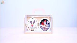 DIY Dollhouse Miniature Kit (Seed World:Gift of Snowy Night ) Merry Christmas 2019