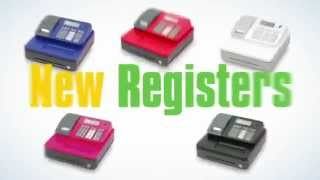 New se-g1 colorful cash registers support creative shop design. choose from a great selection of colors to match your shop's personality and image. for furth...