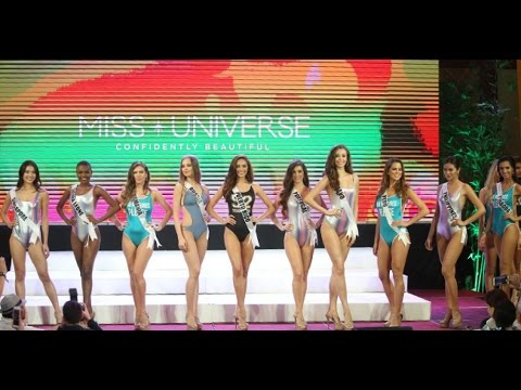 Miss Universe 2016 Swimsuit Competition - Cebu, Philippines - FULL HD