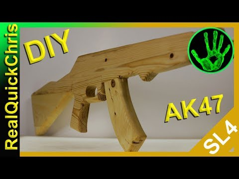 how to build a wooden ak47