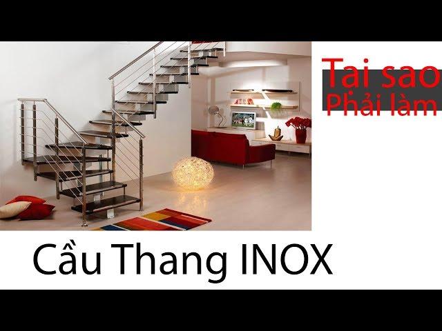 Tại sao nên làm mẫu lan can inox Hà Nội tại công ty Nội thất Thủ Đô