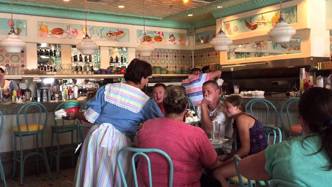 Beaches and cream Disney world FL the kitchen sink ice cream