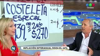 LA INFLACIÓN DE NOVIEMBRE ALCANZÓ EL 3,2% CON LO QUE LA INTERANUAL ROZA EL 44%