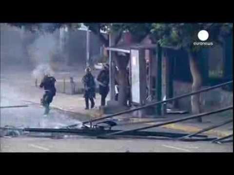 Caracas: Anti-Maduro protests continue