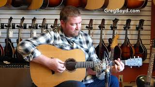 New Bent Twig Chocolate Mango Dreadnaut Guitar