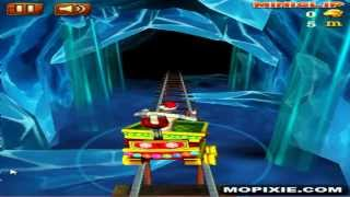 Play Free Online Rail Rush Worlds Games - Rail Rush Worlds Snow Land