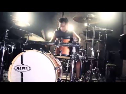 Garanumoto : Cover drum - Kotak : tendangan dari langit