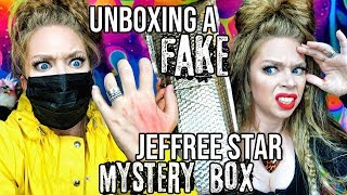 "Unboxing A FAKE Jeffree Star Cosmetics ""Holiday"" MYSTERY BOX?!"