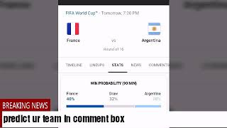 Argentina Vs France Match Preview And Predictions Fifa World Cup 2018 Russia